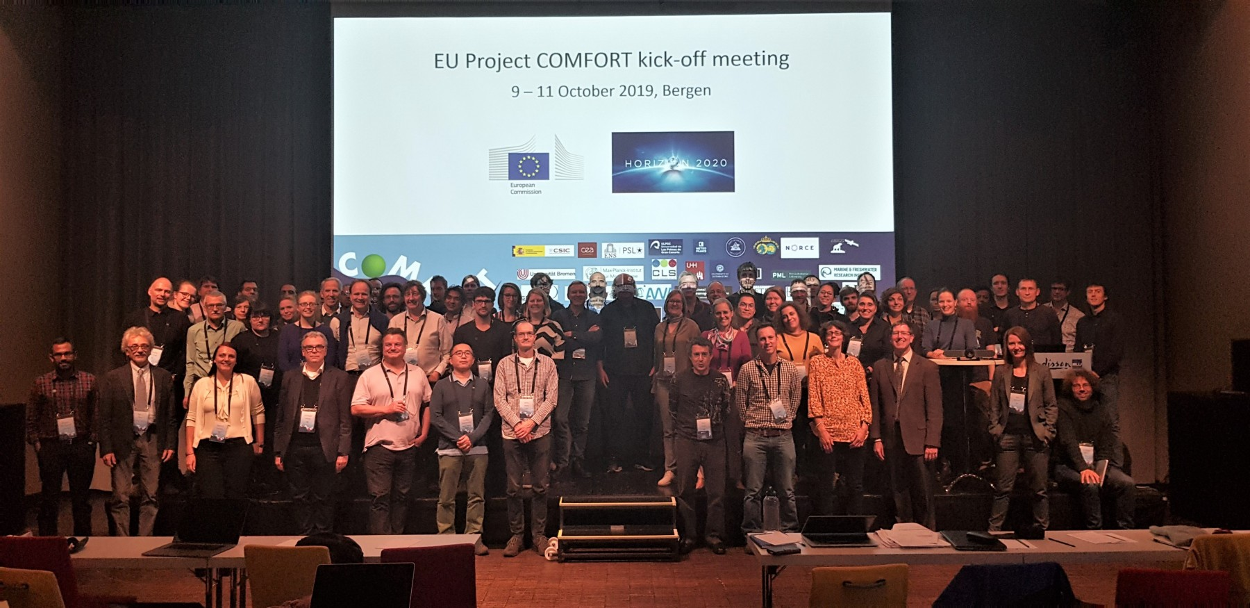 COMFORT Consortium (photo: Andre Kvalvågnes)