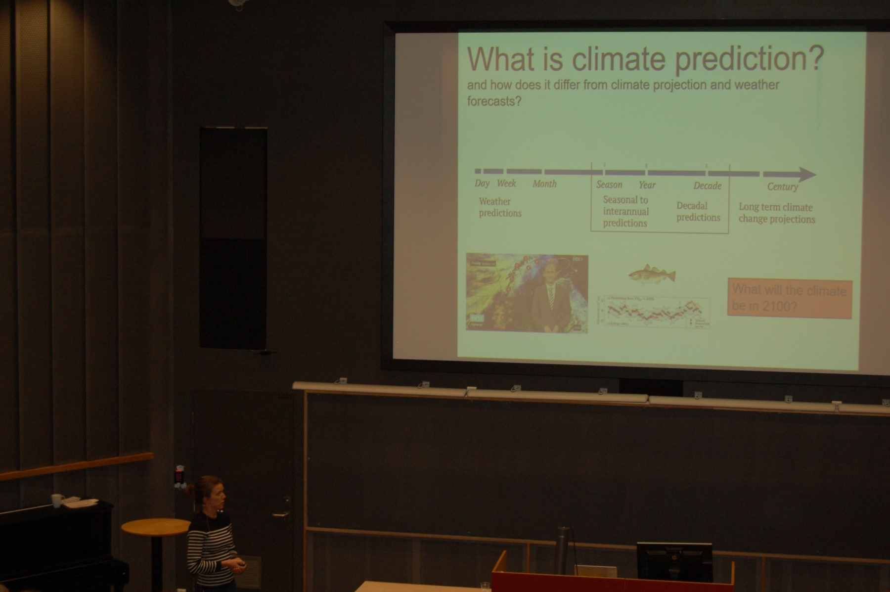 Climate predictions by Filippa Fransner